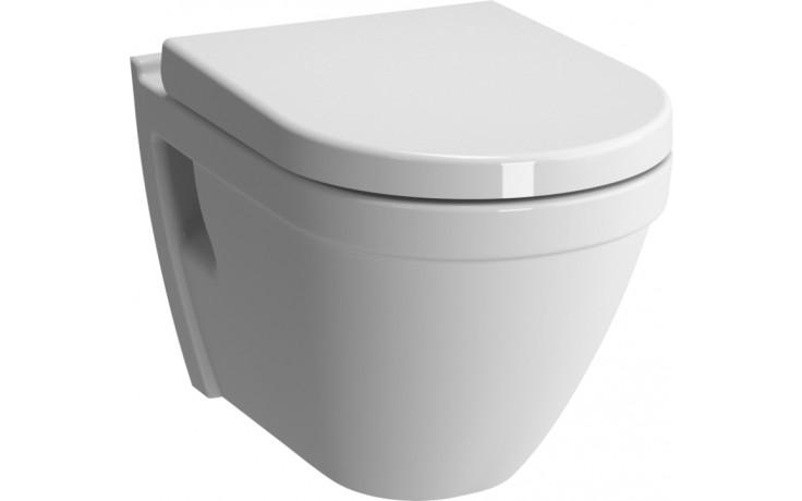 WC závěsné Vitra odpad vodorovný S50 Rim-Ex  bílá alpin