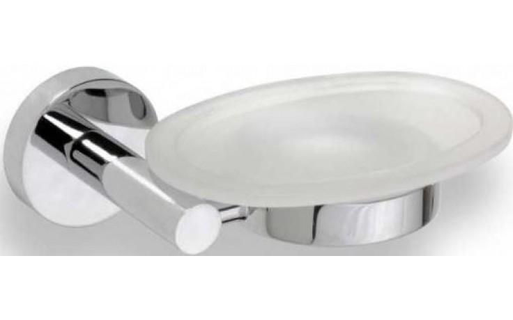 GOZ METAL mýdlenka 150x54x115mm, mosaz/sklo, chrom