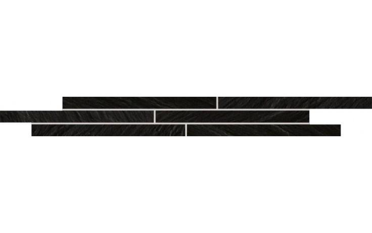 Listela Rako Light 40x5 cm černá