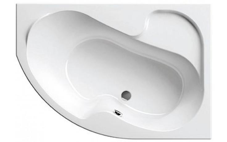 RAVAK ROSA I 150P asymetrická vana 1500x1050mm akrylátová, pravá, bílá