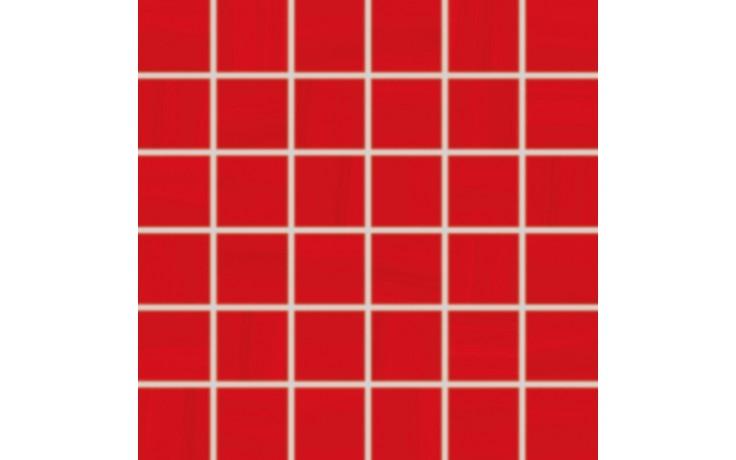 RAKO AIR mozaika 5x5cm červená WDM06041