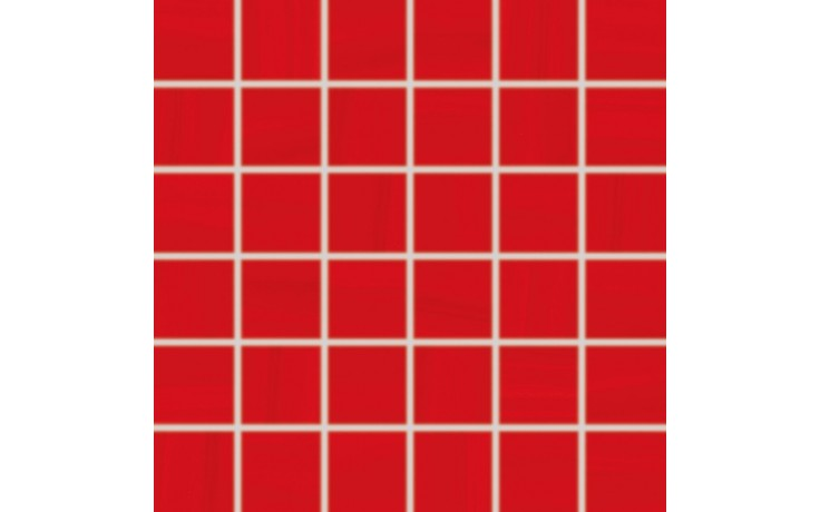 Obklad Rako Air 5x5 (30x30) cm červená