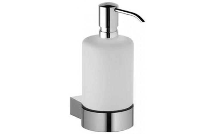 KEUCO PLAN dávkovač tekutého mýdla 250ml nástěnný, chrom/sklo mat