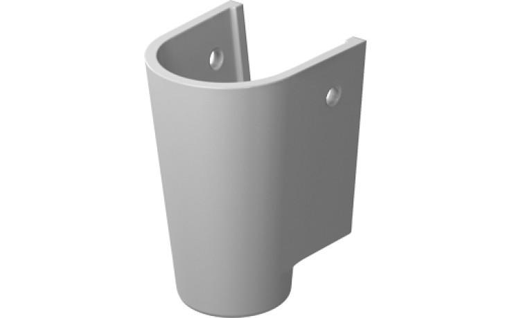Polosloup Duravit Starck 2 pro umyv. 65 cm 60 cm a 55 cm WG bílá+wondergliss