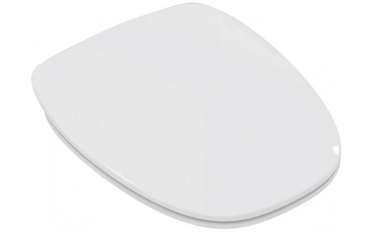 Sedátko WC Ideal Standard duraplastové s kov. panty Dea ultra ploché, Soft-close  bílá