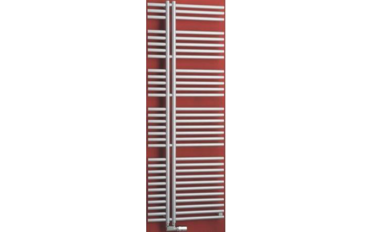 P.M.H. KRONOS KR1MS koupelnový radiátor 600x800mm, 427W, metalická stříbrná
