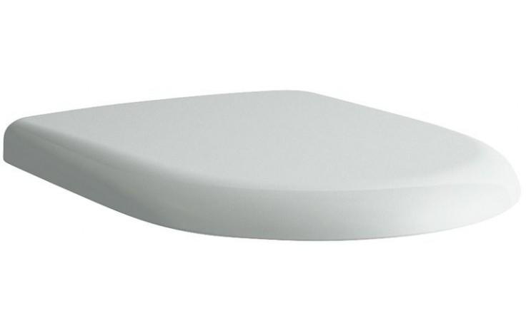 LAUFEN PRO sedátko s poklopem 443x374mm odnímatelné, s antibakteriální úpravou, bílá