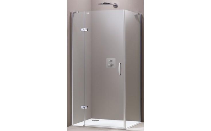 Zástěna sprchová boční Huppe sklo Aura elegance Akce 1000x1900mm stříbrná matná/čiré AP
