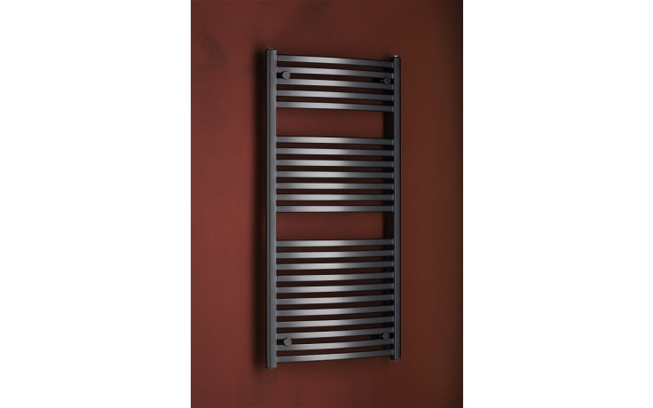 Radiátor koupelnový PMH Marabu 450/1233 406 W (75/65C) metalická amtracit 09/80170