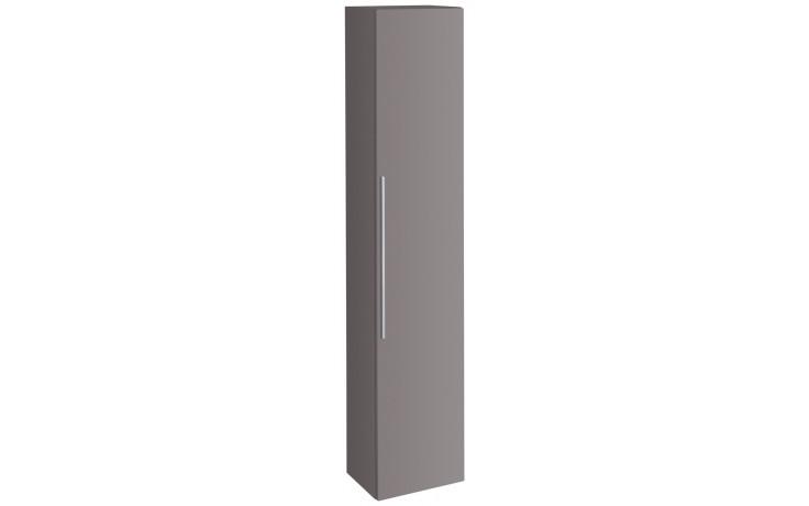 Nábytek skříňka Keramag iCon vysoká 36x180x30,9 cm platinová lesklá