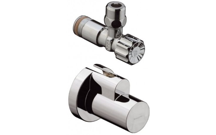 HANSGROHE ventil rohový s krytkou chrom 13954000
