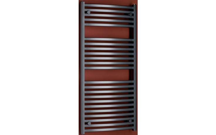 P.M.H. MARABU M3A koupelnový radiátor 450x1233mm, 406W, metalická antracit