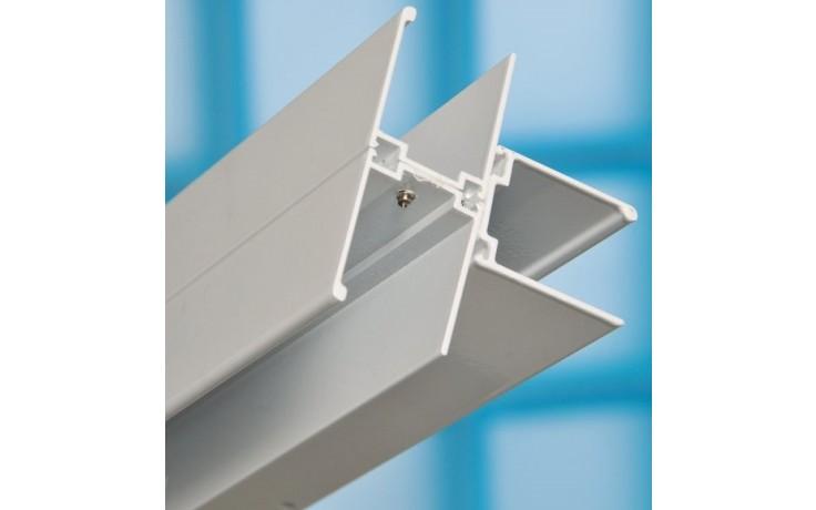 Zástěna příslušenství Ravak - T spoj white 1850 mm