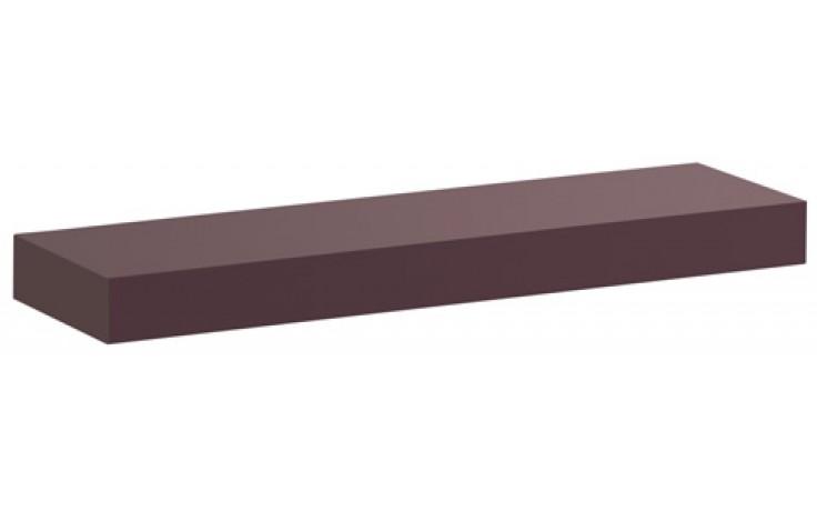 KERAMAG ICON polička 60cm burgundy lesklá 840961000
