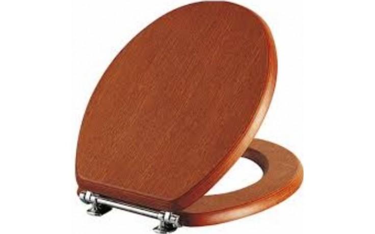 VITRA ARIA WC sedátko 340mm dřevěné chestnut/gold 37-013-311