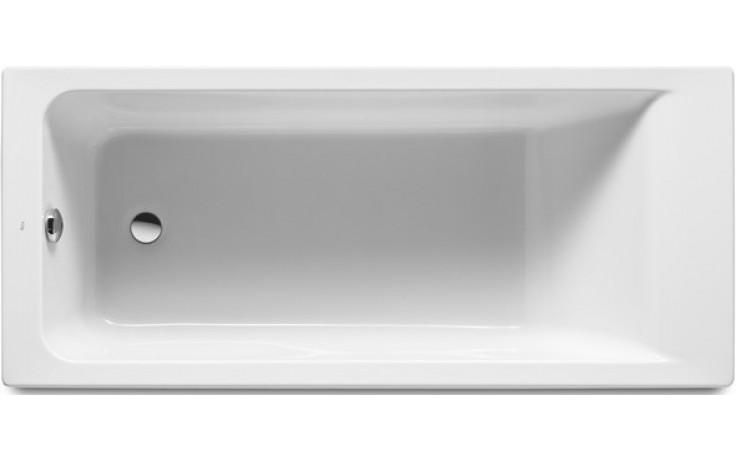 Vana plastová Roca - Easy včetně podpěr 160x75 cm bílá
