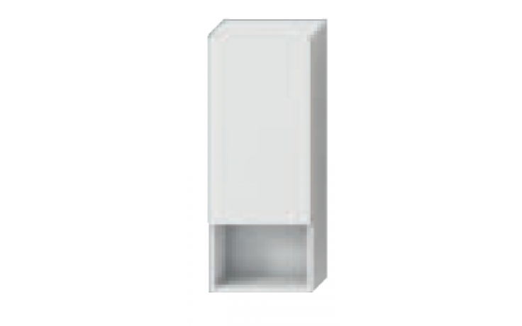 JIKA LYRA skříňka 320x132mm, střední, mělká, bílá /bílá