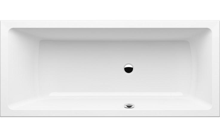 GKI MEMO klasická vana 1700x750mm s přepadem vpravo, akrylátová, bílá