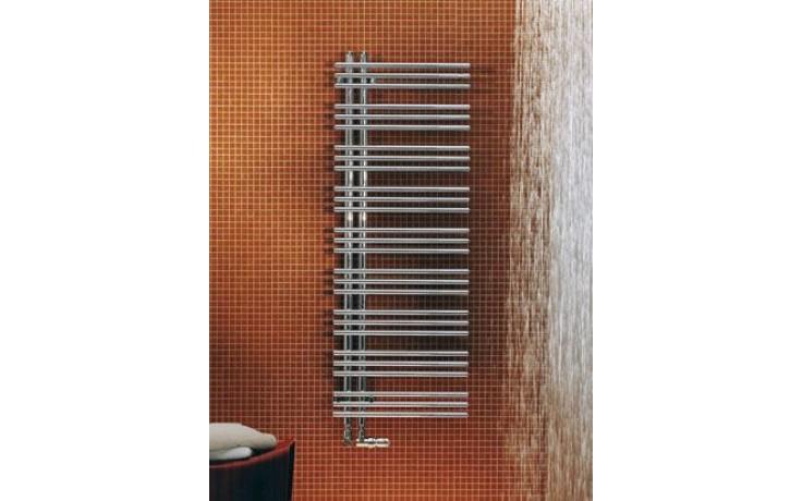 Radiátor koupelnový Zehnder Yucca Asym 1304x478 mm, 525 W (75/65 C) bílá RAL9016