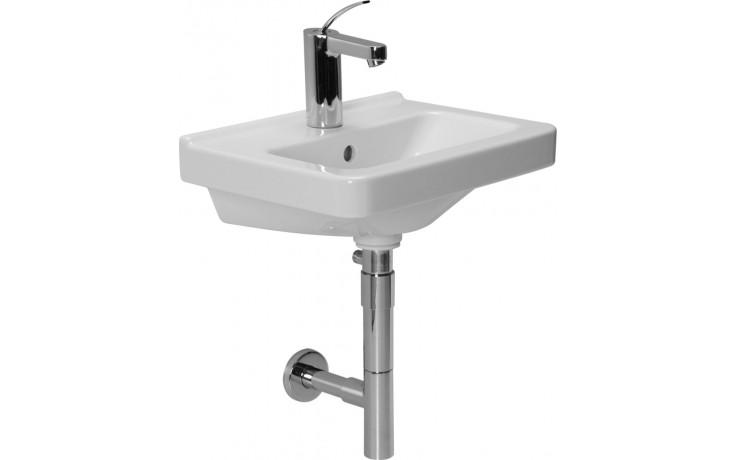 JIKA CUBITO umývátko 450x340mm s otvorem, bílá Jika perla 8.1142.2.100.104.1