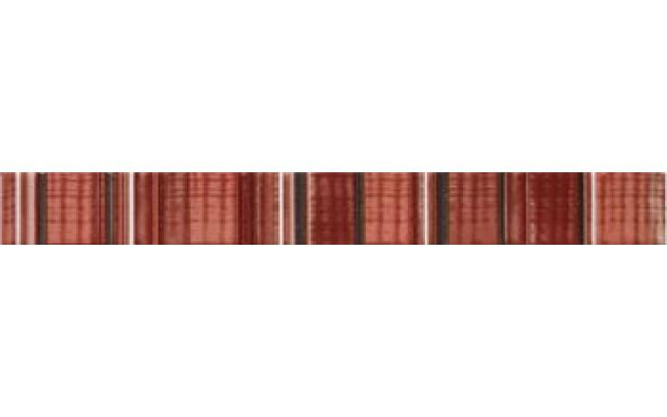 IMOLA HALL listela 4,5x40cm red, L.MORSE R