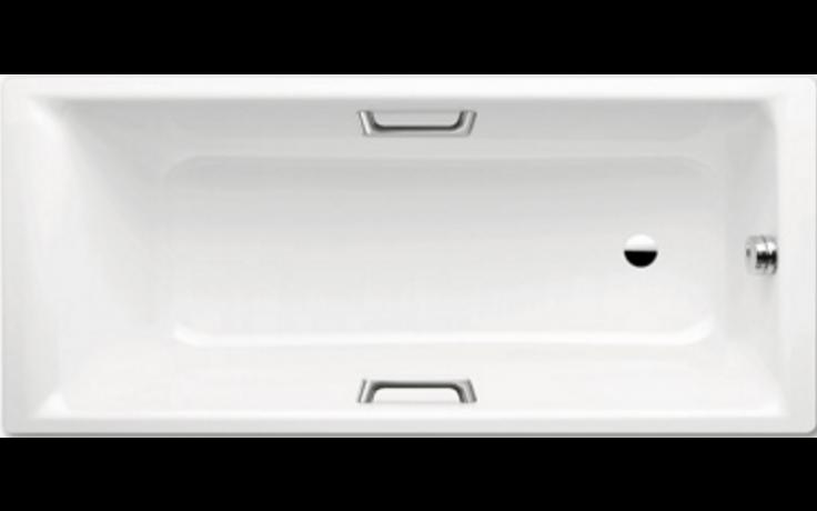 KALDEWEI PURO STAR 654 vana 1700x750x420mm, ocelová, obdélníková, bílá celoplošný Antislip, Perl Effekt 235300010001