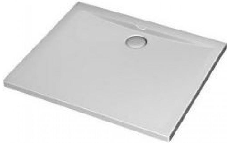 Vanička plastová Ideal Standard obdélník Ultra Flat 100x80x4,7 cm bílá