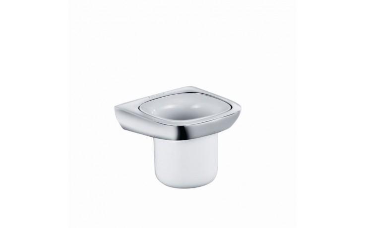Doplněk držák se skleničkou Kludi Amba 5397505  chrom-porcelán