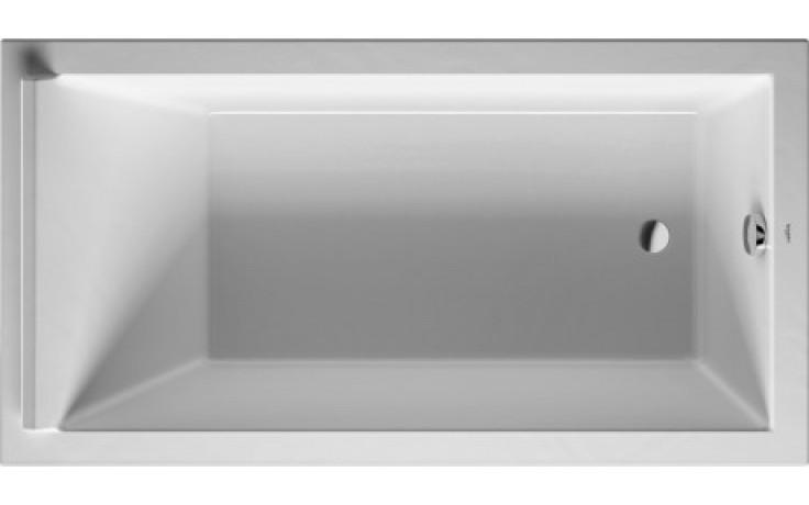 DURAVIT STARCK vana obdélníková 1700x900mm na zabudování, bílá 700337000000000