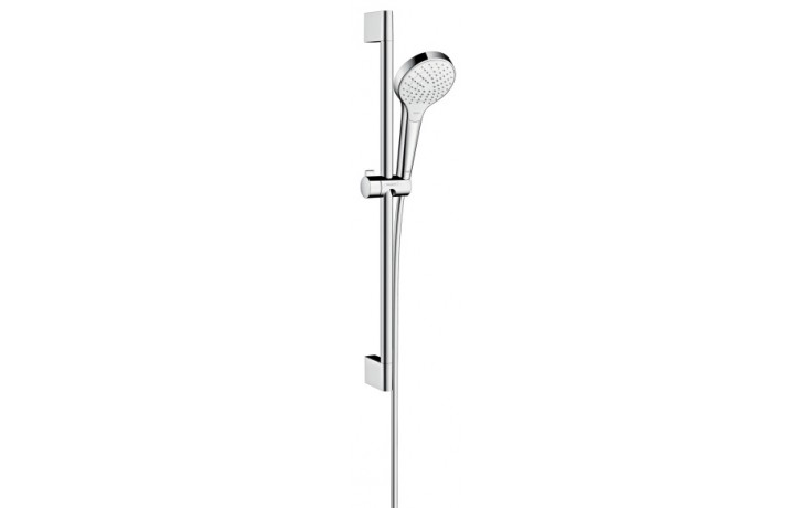 Sprcha sprchový set Hansgrohe Croma Select S Vario l=650 mm bílá-chrom