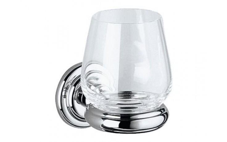 Doplněk sklenička Keuco Astor 02150019000  chrom/sklo čiré