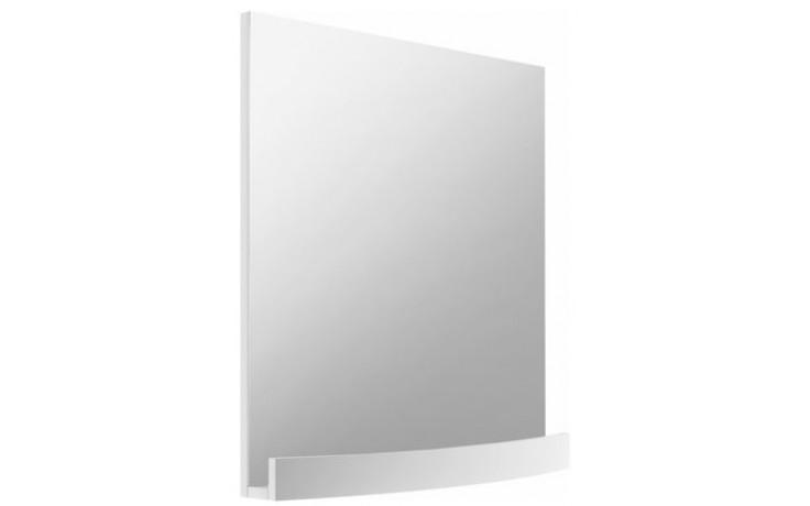 Nábytek zrcadlo Ravak Evolution s poličkou 700x125x700 mm bílá lesk