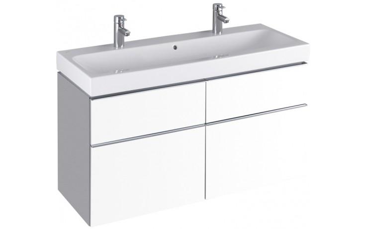 KERAMAG ICON skříňka pod umyvadlo 119x62x47,7cm závěsná bílá lesklá (Alpin) 840420000