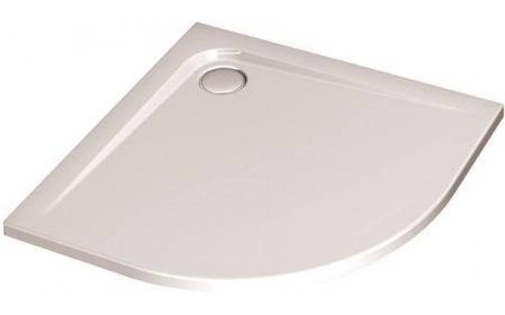 Vanička plastová Ideal Standard čtvrtkruh Ultra Flat 90x90 cm bílá+Ideal Grip