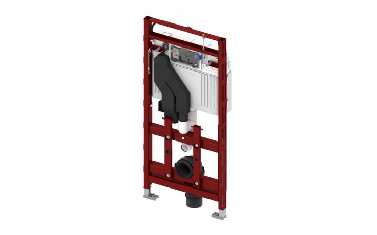Montážní prvek do lehkých příček pro upevnění do konstrukce z profilových trubek TECEprofil nebo pro instalaci do sádrokartonových profilů, dřevěných konstrukcí a pro instalaci do rohu nebo panelového jádra. Stavební výška 1120 mm. Včetně odsávání pachu c