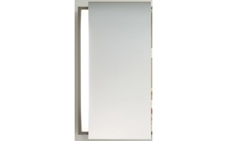 Nábytek zrcadlová skříňka Duravit Ketho panty v levo 650x180x750 mm graphit matt