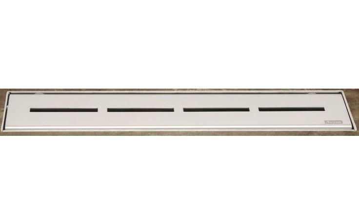 Žlab podlahový Ravak - Runway 300 300mm nerez