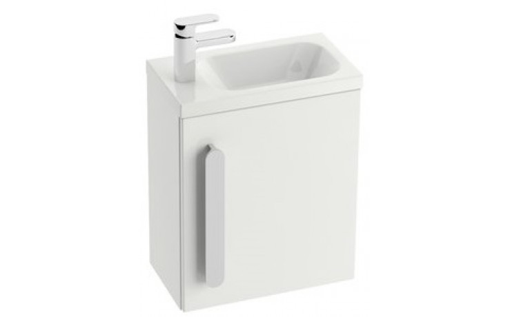 RAVAK CHROME SD 400 korpus skříňky 400x220x550mm pod umývátko, bílá X000000538