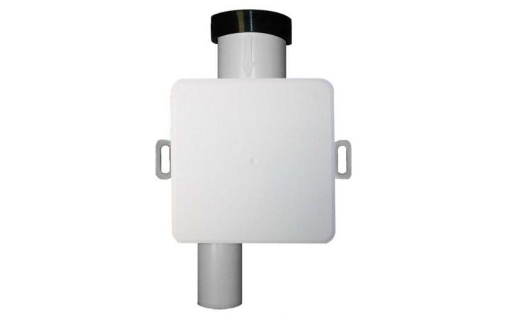 HL zápachová uzávěra DN32 podomítková vodní, s přídavnou mechanickou zápachovou uzávěrou, polypropylen/ ABS
