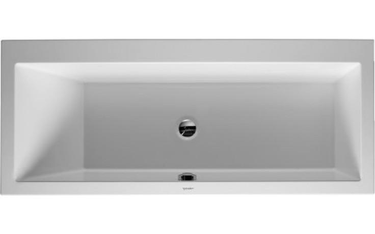 DURAVIT VERO obdélníková vana 1700x750mm, akrylát, bílá