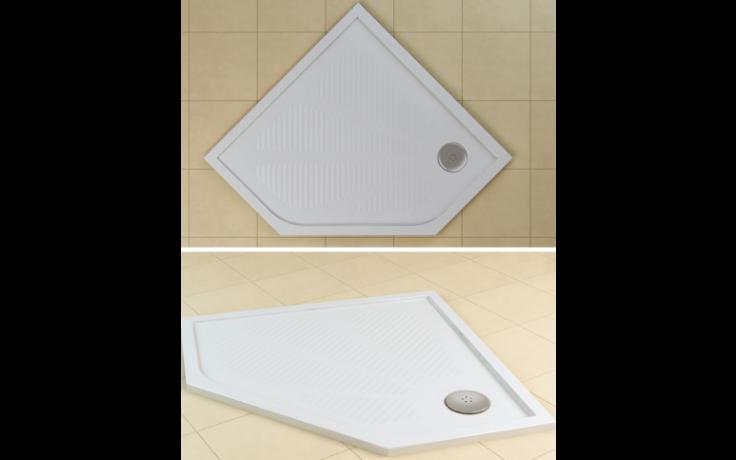 SANSWISS MARBLEMATE WM5 vanička 900x900x30mm pětiúhelník, bílá
