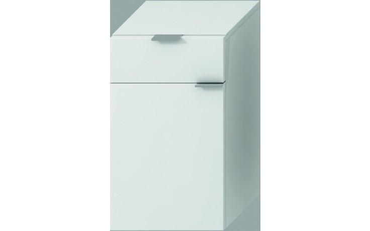 Nábytek skříňka Jika Tigo 30x51x27 cm bílá-bílý lak