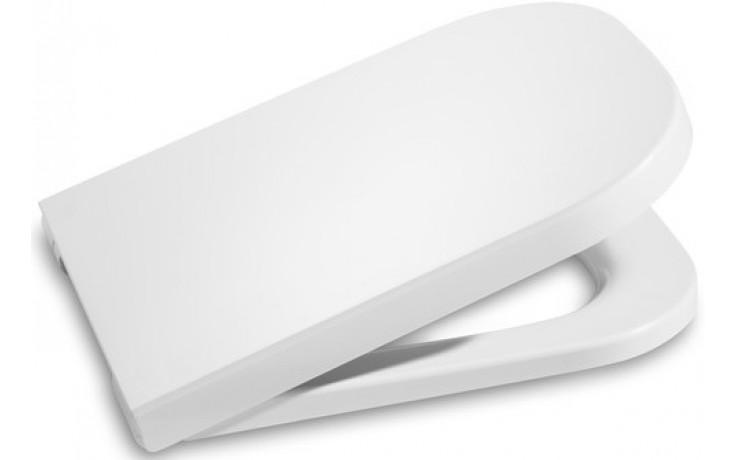 Sedátko WC Roca duraplastové s kov. panty The Gap Clean Rim  bílá