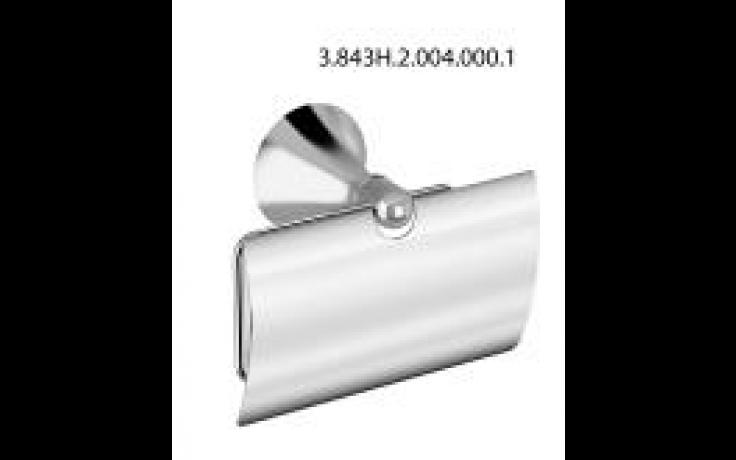 JIKA HERITAGE držák toaletního papíru13x6x10cm s krytem, chrom