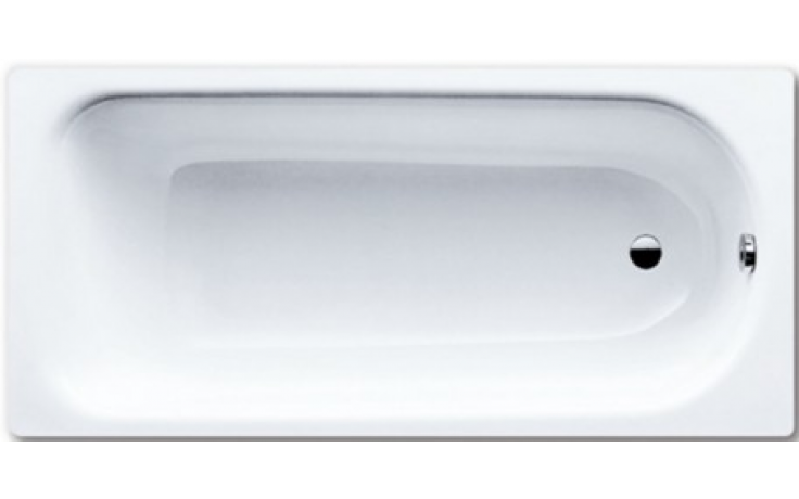 KALDEWEI SANIFORM 373-1 vana 1700x750x410mm, ocelová, obdélníková, bílá, Perl Effekt, celoplošný Antislip 112634013001