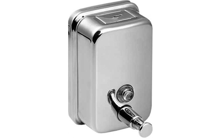 SANELA SLZN06 dávkovač tekutého mýdla 0,85l, nerez lesk