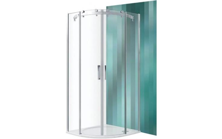 ROLTECHNIK AMBIENT LINE AMR2N/900 sprchový kout 900x2000mm R550 čtvrtkruh, s dvoudílnými posuvnými dveřmi, brillant/transparent