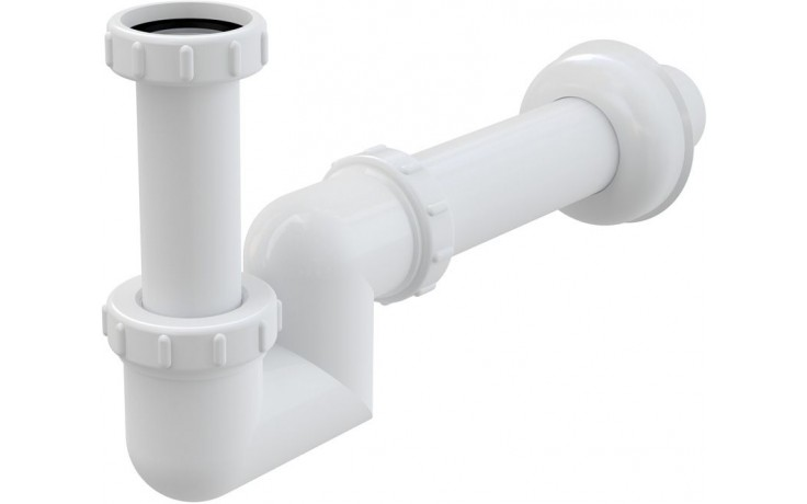 CONCEPT umyvadlový a bidetový sifon Ø40, s převlečnou maticí, bílá