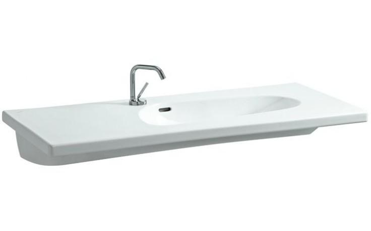 Umyvadlo klasické Laufen s otvorem Palomba Collection 120 cm bílá-LCC