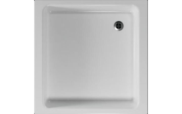 Čtvercová sprchová vanička STEFANI se vyrábí v provedení s hladkým povrchem.